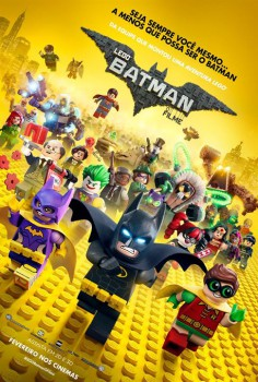 Capa do Filme LEGO Batman: O Filme