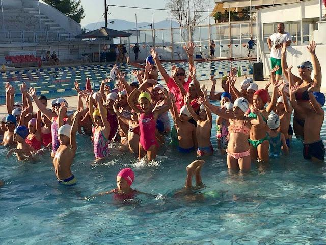 Με μεγάλη επιτυχία έγινε η κολυμβητική γιορτή των Ιπτάμενων