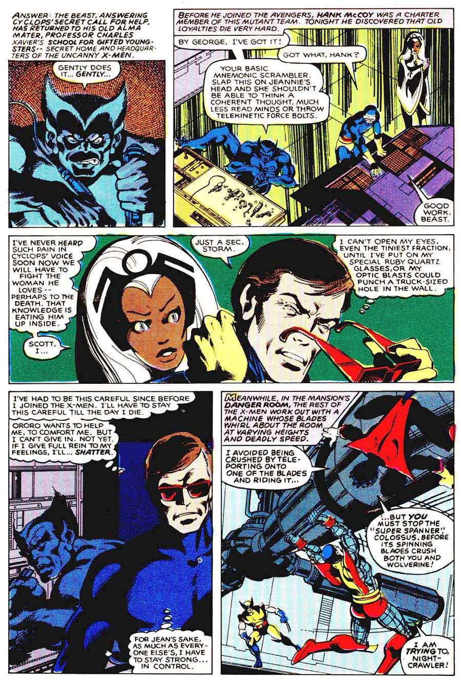 X-men v1 #136 marvel comic book page art by John Byrne