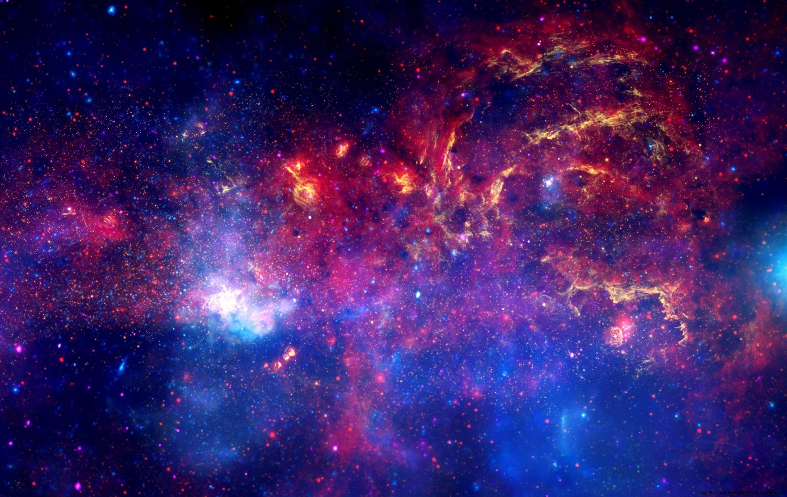 Space Nebula Purple Widescreen Hd Wallpaper | High ...
