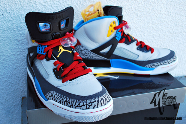 best sneakers 29d98 5259f Here s a look at the new Spizikes that are set to drop on February 4th.  They were given to Barack Obama as a promotional event nike honour by Spike  Lee a ...