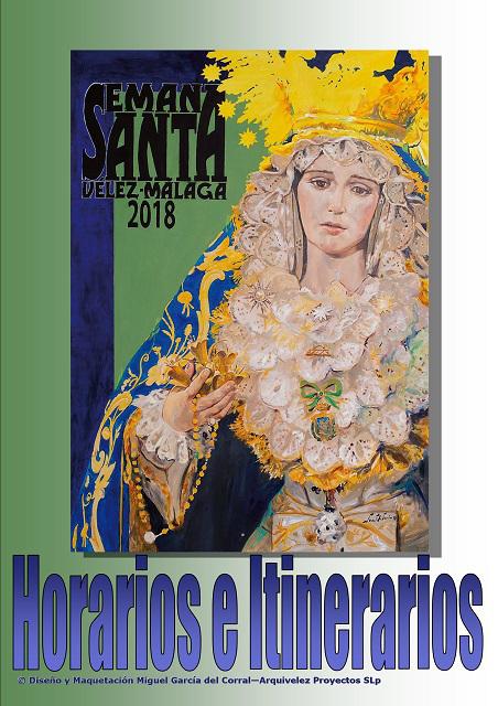 Programa, Horarios e Itinerarios Semana Santa Vélez-Málaga 2018