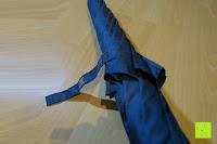 öffnen: Golf Regenschirm, Pomelo Best Automatik auf Windresistent mit 128cm Durchmesser aus robusten 190T Pongee Stockschirm geeignet für 3-4 Personen