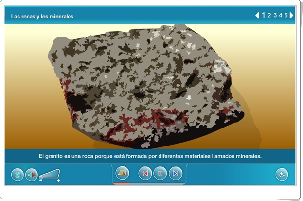 """""""Las rocas y los minerales"""" (Actividad interactiva)"""