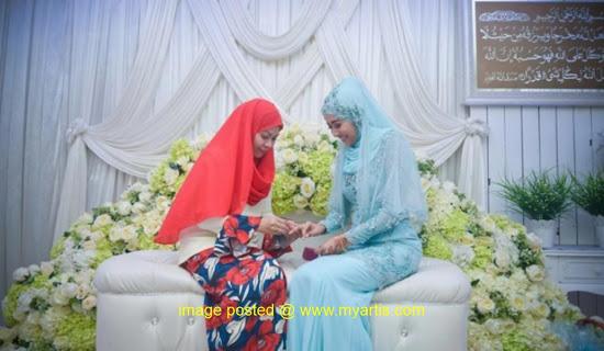 Ana Dahlia Selamat Bertunang Dengan Anak Jurey Latiff