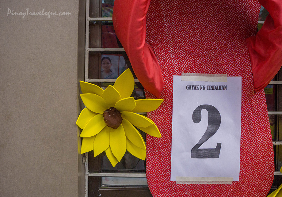 Storefronts are embellished for Gayak ng Tindahan