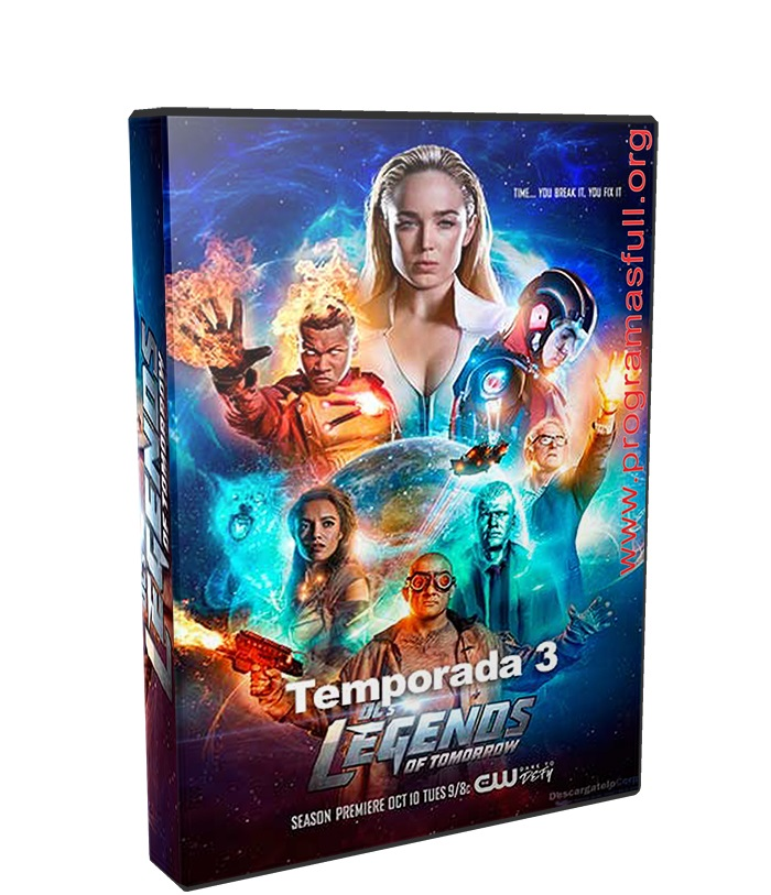 Legend of Tomorrow Temporada 3 poster box cover