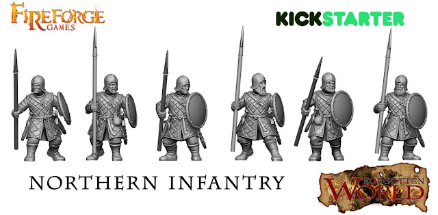 Fireforge Games Plastic Fantasy Forgotten World Northern Infantry