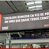 NETFLIX FAZ OUTDOOR NO AEROPORTO DE BRASÍLIA COM RECADO PARA POLÍTICOS