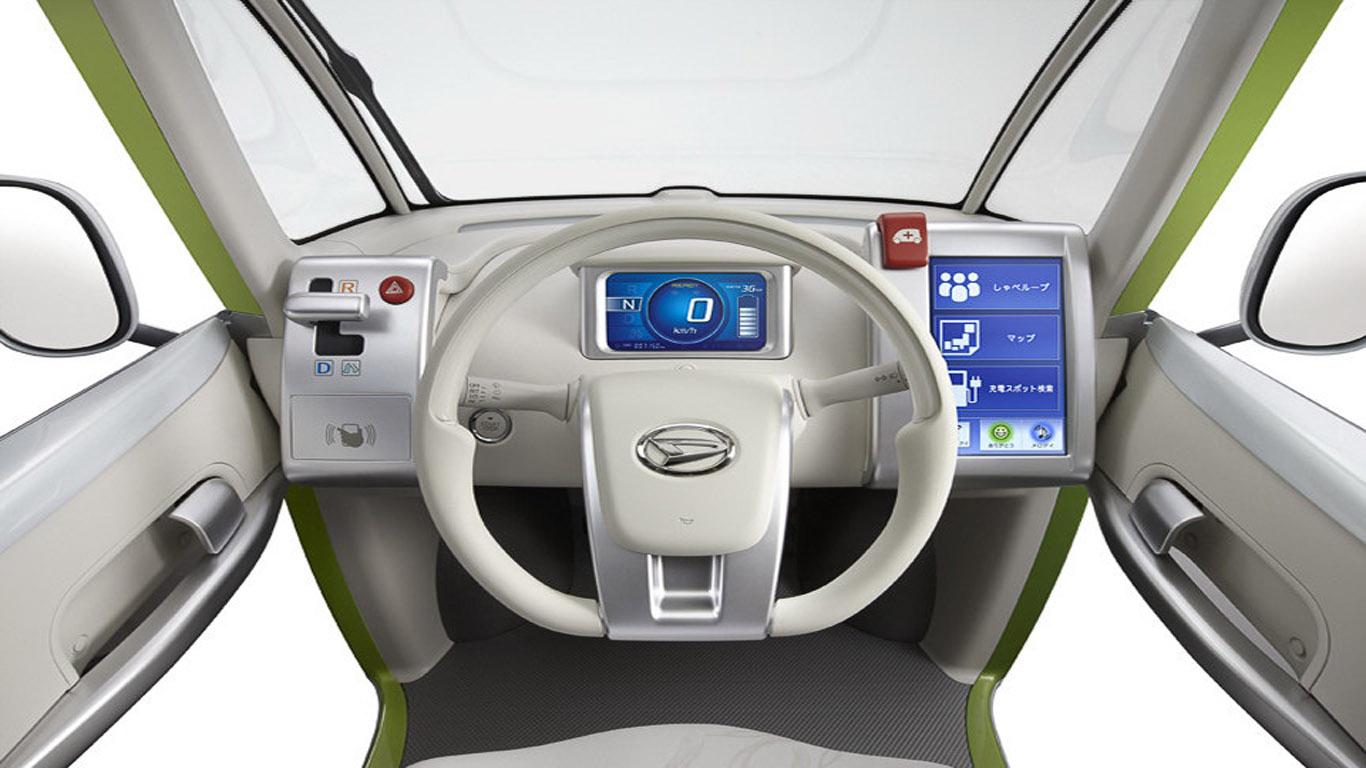 Daihatsu Pico EV Concept: A Tiny, Futuristic Electric Car