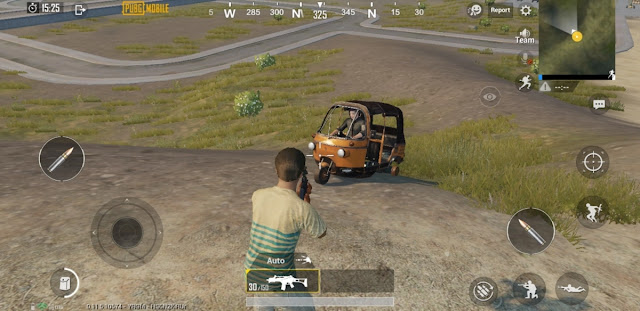 PUBG Mobile Auto Rikshow, G36C New Weapon and Dynamic Weather