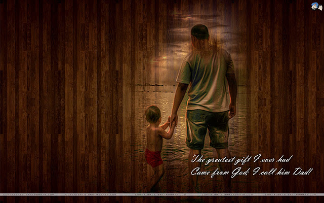 HD Wallpapers & Greeting Cards Of Fathers 2017 Day From Son & Daughter To Dad