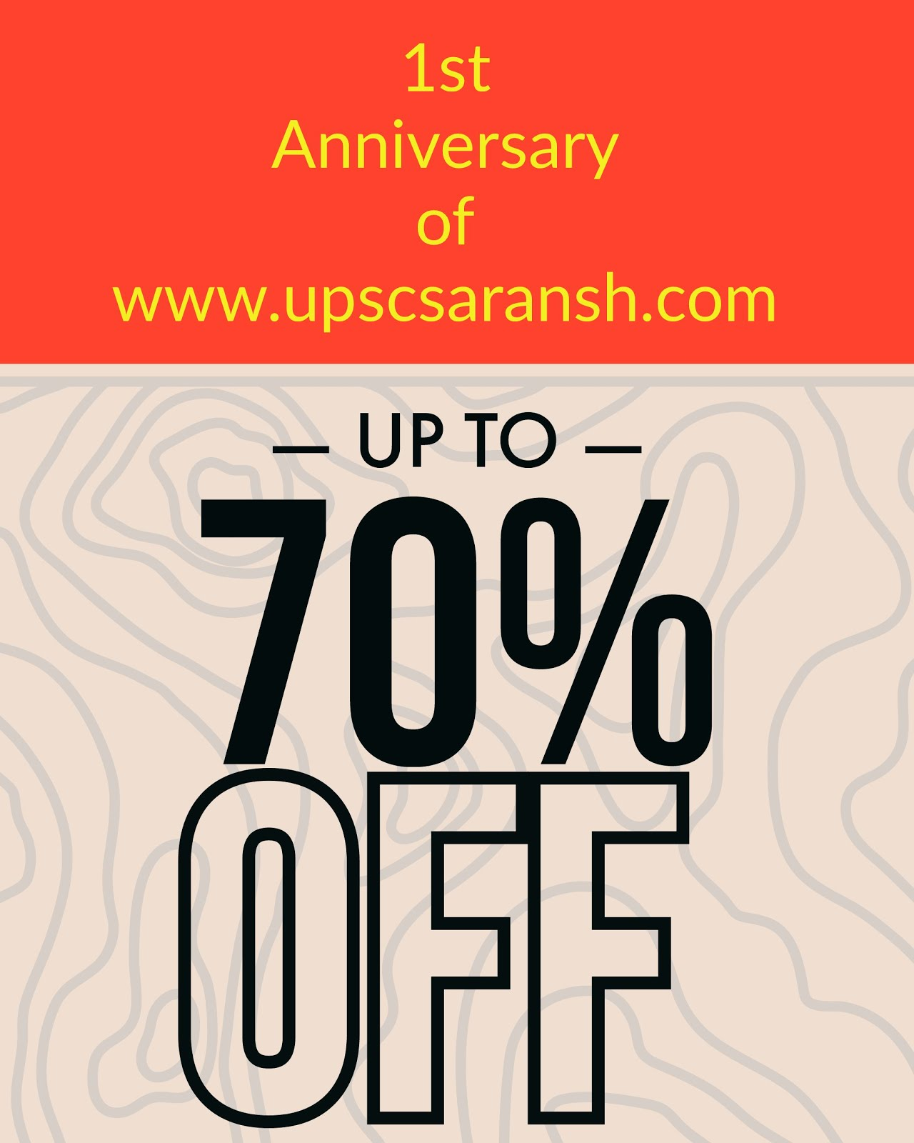 eBook price off on 1st anniversary