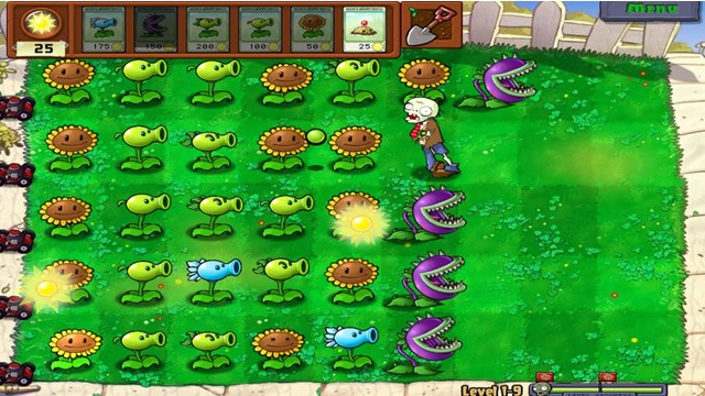 Download Plants vs Zombie 1 PC Games Gameplay