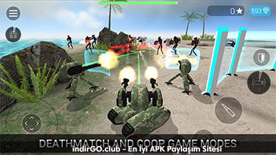 CyberSphere Sci-fi Shooter Hile APK