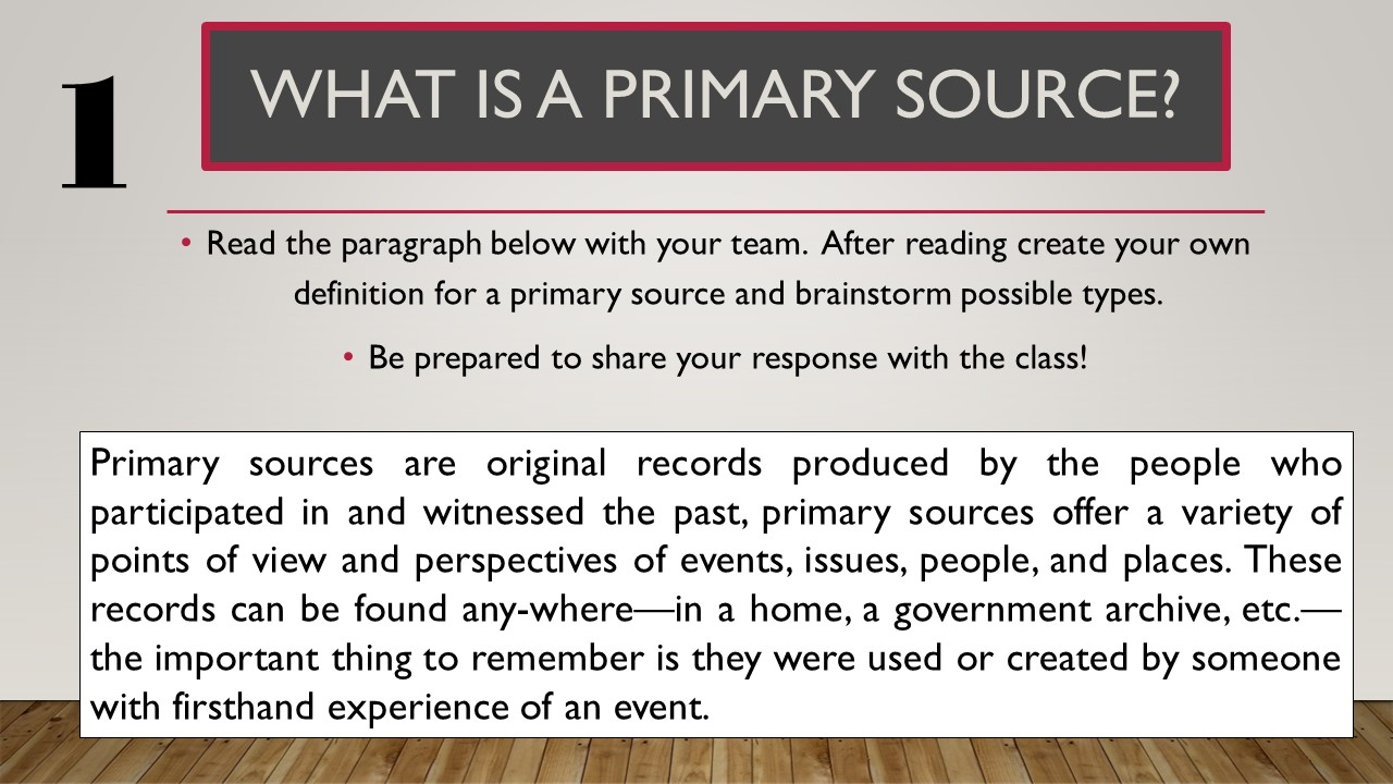 A View of the Web August 2016 – Primary Secondary Sources Worksheet