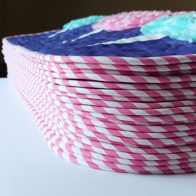 Cotton Candy mini quilts