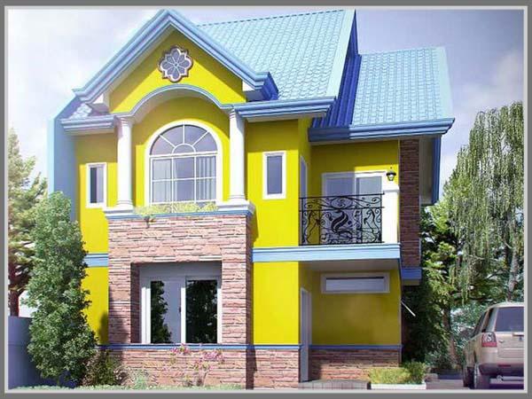 910+ Gambar Warna Cat Rumah Luar HD