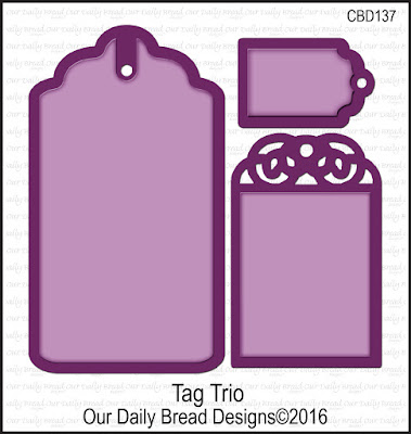Our Daily Bread Designs Custom Tag Trio Dies