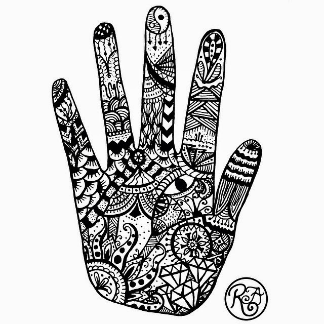 Art-Core: Hand Zentangle