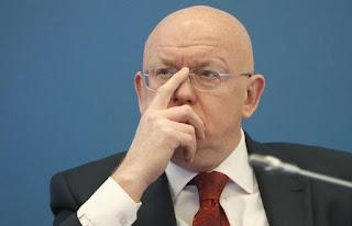 Russian Permanent Representative to the UN Vasily Nebenzya