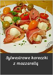 Sylwestrowe kuleczki z mozzarella