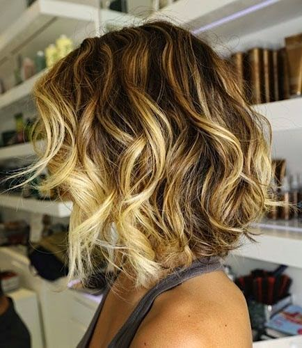 See more Short ombre hair, love it! www.womensandmenshairstyle.net