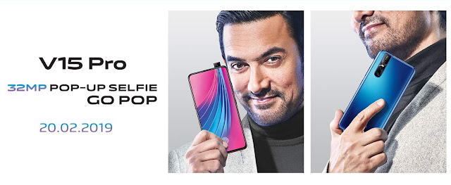 Vivo V15 Pro with Pop-up selfie camera teased on Flipkart, ahead of official launch
