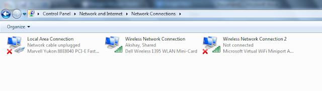 PC into wifi hotspot