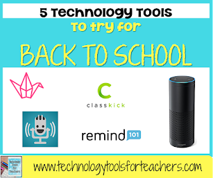 5 Technology Tools to Try for Back to School