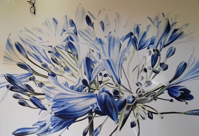Agapanthus work in progress