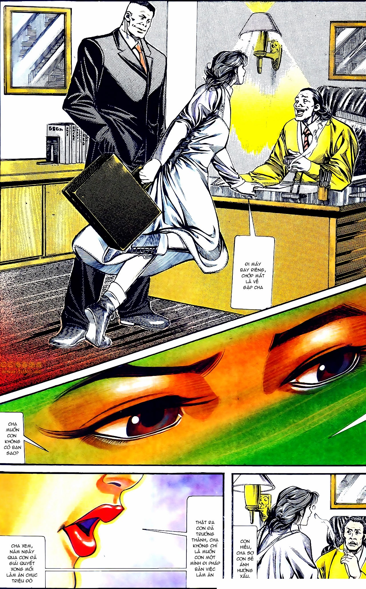 Người Trong Giang Hồ chapter 134: tấn công bảo nhi trang 10