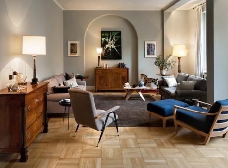 Arredare il salotto con pochi soldi edilizia in un click - Arredare casa con parquet ...
