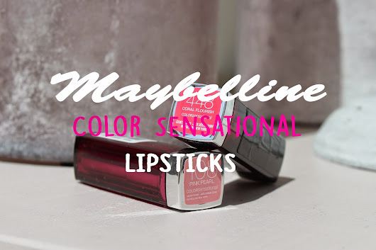 iPriszz: BEAUTY | MAYBELLINE COLOR SENSATION LIPSTICKS