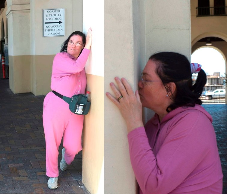 This is 'Crazy Runs Deep'! Woman 'Marries & Kisses' Train Station She's Loved for 36-years & Even 'Had S£x With Mentally'