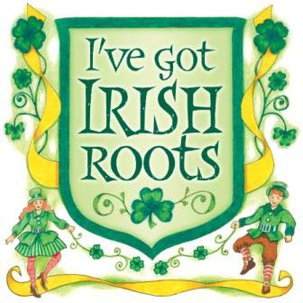 Irish roots graphic