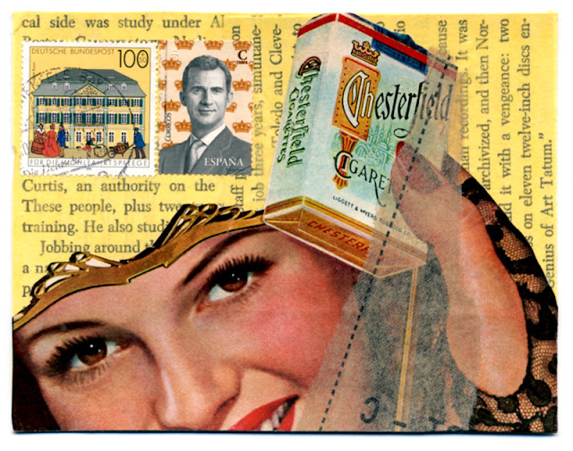 Postcard  I received in iHanna DIY postcard swap