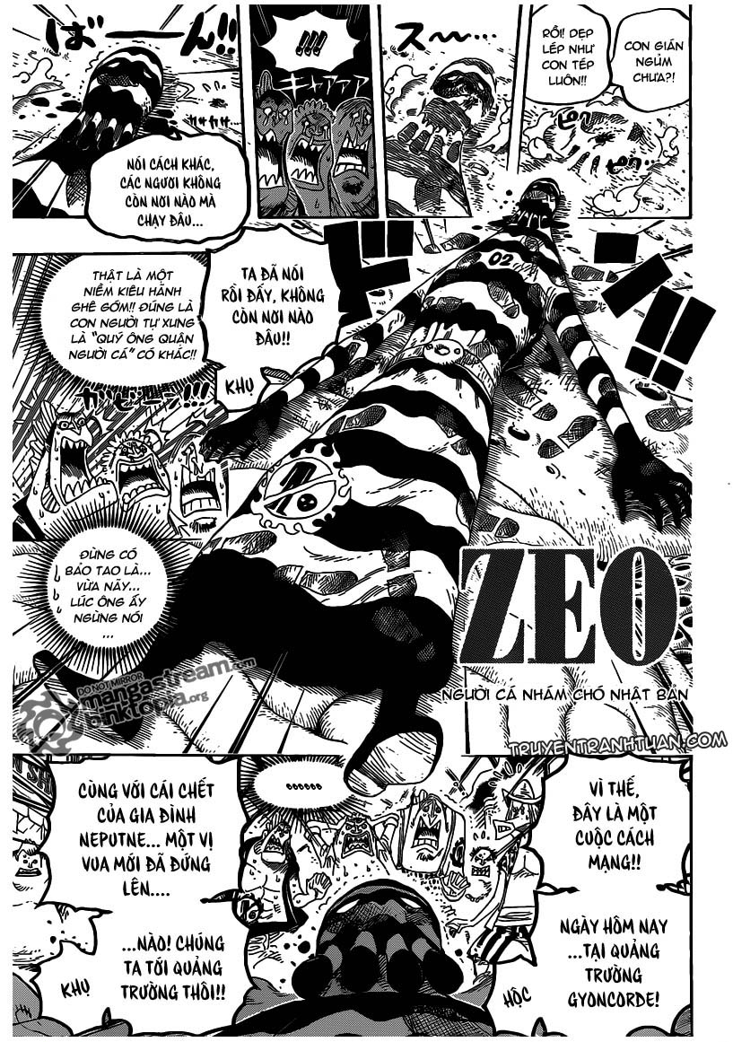 One Piece Chap 630