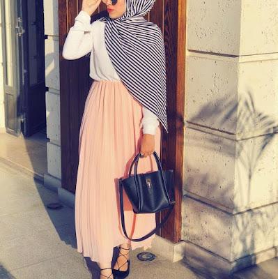 Mode hijab 2019 avec Robe