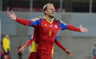 Ildefons Lima con la selección de futbol de Andorra