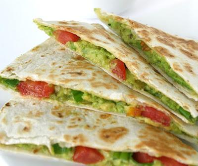 Quesadilla de Abacate (vegana)