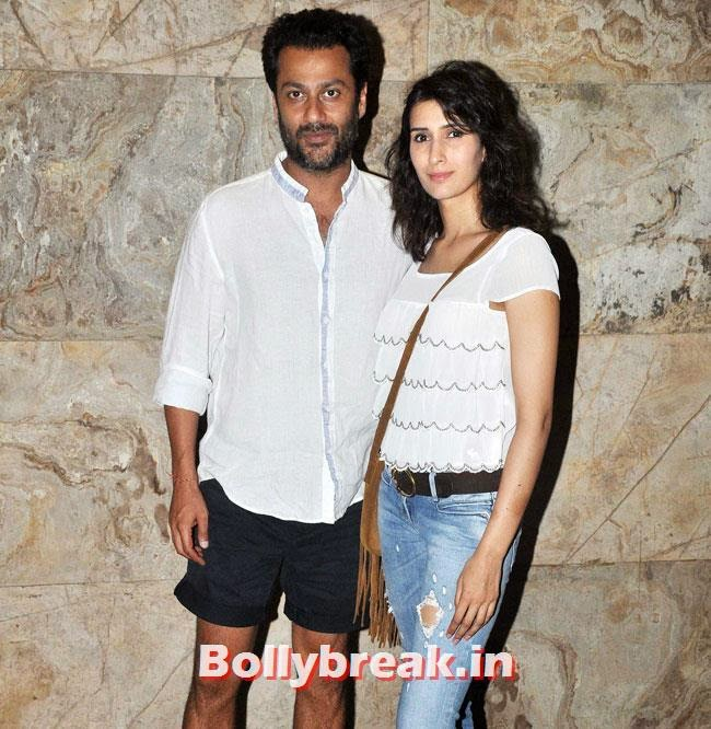 Abhishek Kapoor, Maryam Zakaria at Special Screening ofHawaa Hawaai at Lightbox