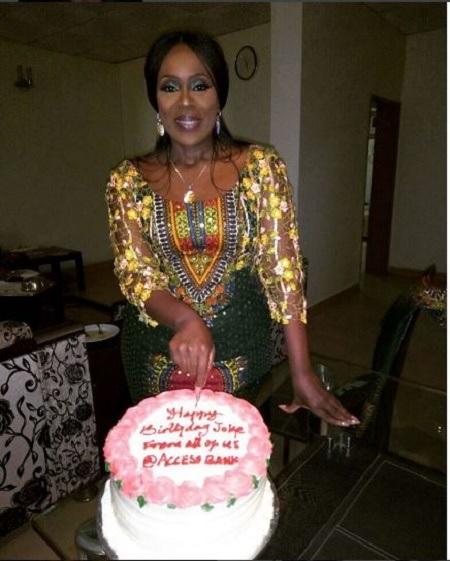 See Beautiful Photos From Veteran Actress, Joke Silva's 55th Birthday Party