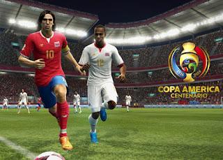 Kit Costa Rica 2016 Copa America Pes 2013
