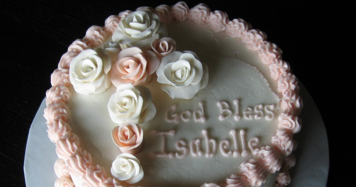 Baptism Cake Decorations Uk
