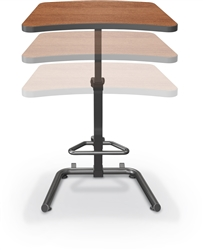 MooreCo Up-Rite Sit To Stand Workstation