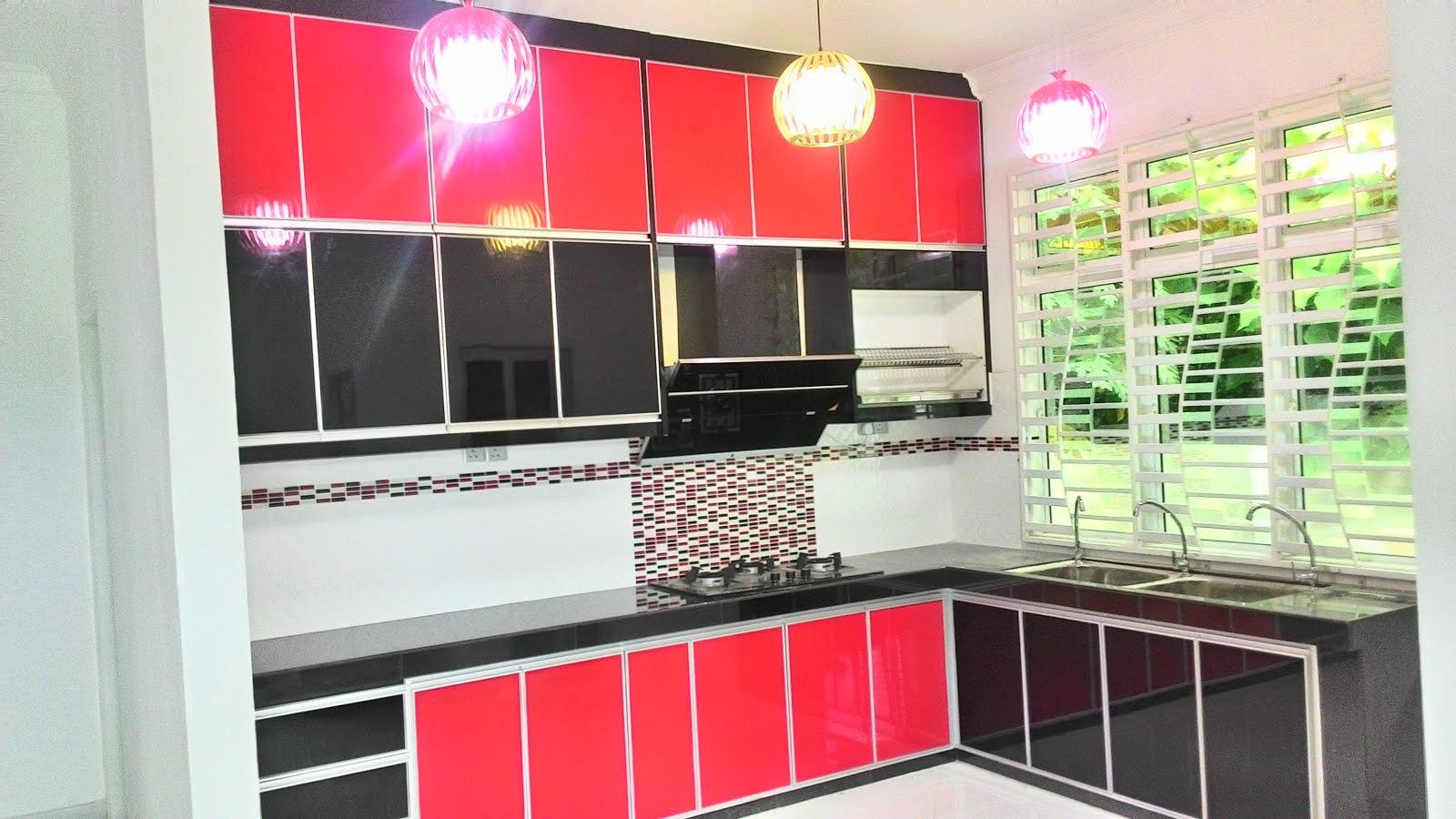 Kabinet Dapur Rumah Banglo Kelantan