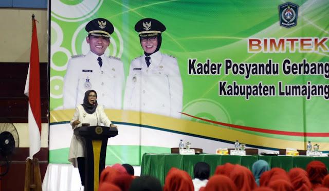 Wakil Bupati Lumajang, Ir. Hj Indah Amperawati