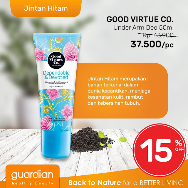 #Guardian - #Promo Diskon Hingga 30% Back to Nature (s.d 24 April 2019)