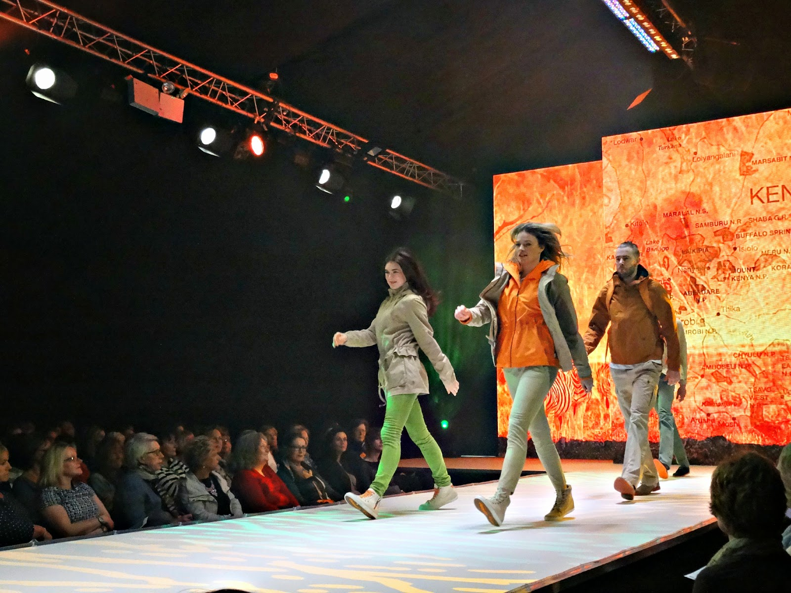 Timberland show at Bristol Fashion Week